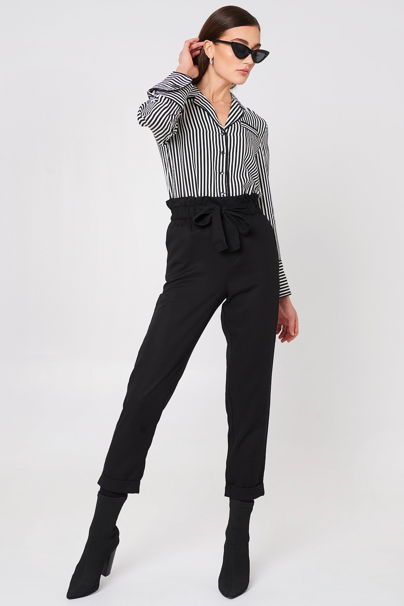 Soft Cord Trousers NA-KD.COM