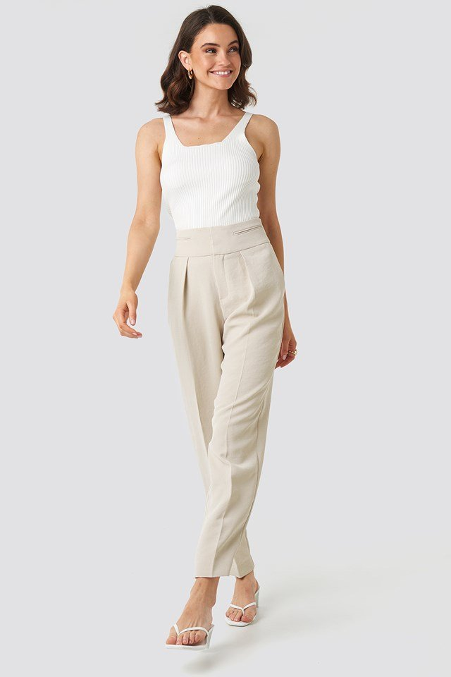 Soho Trousers Beige