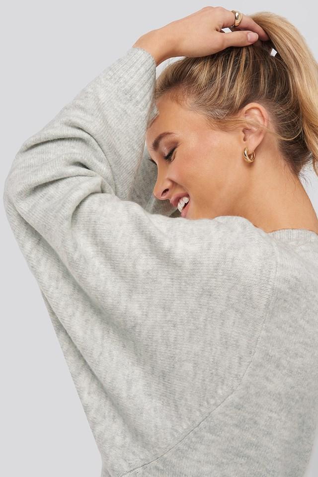 Sputnik Sweater Light Grey