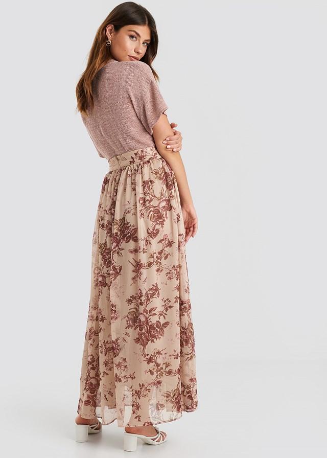 Star Skirt Pastel Pink