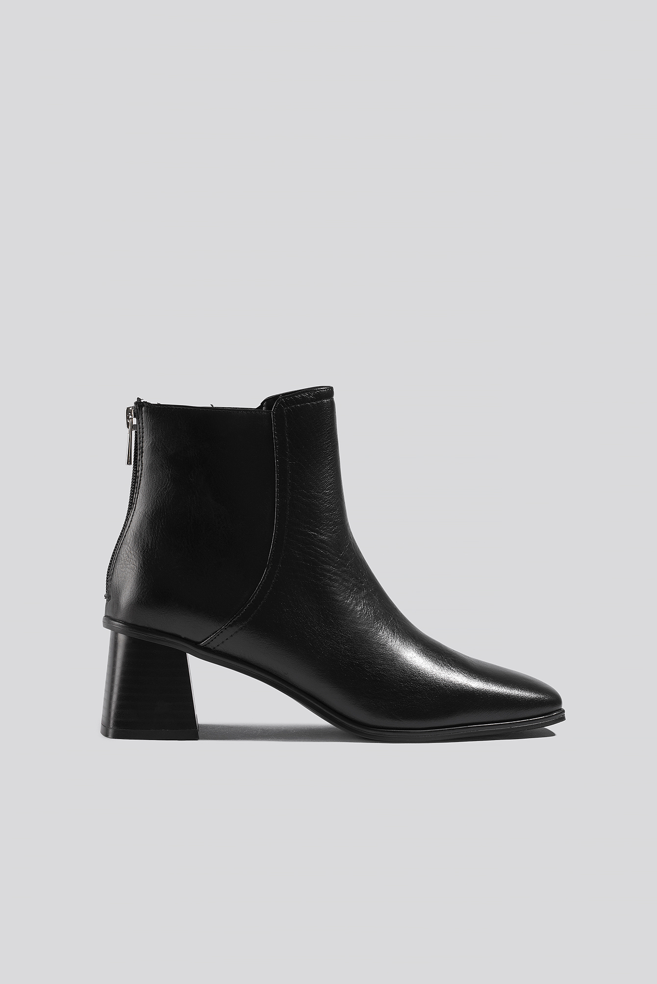 mango -  Step Ankle Boots - Black