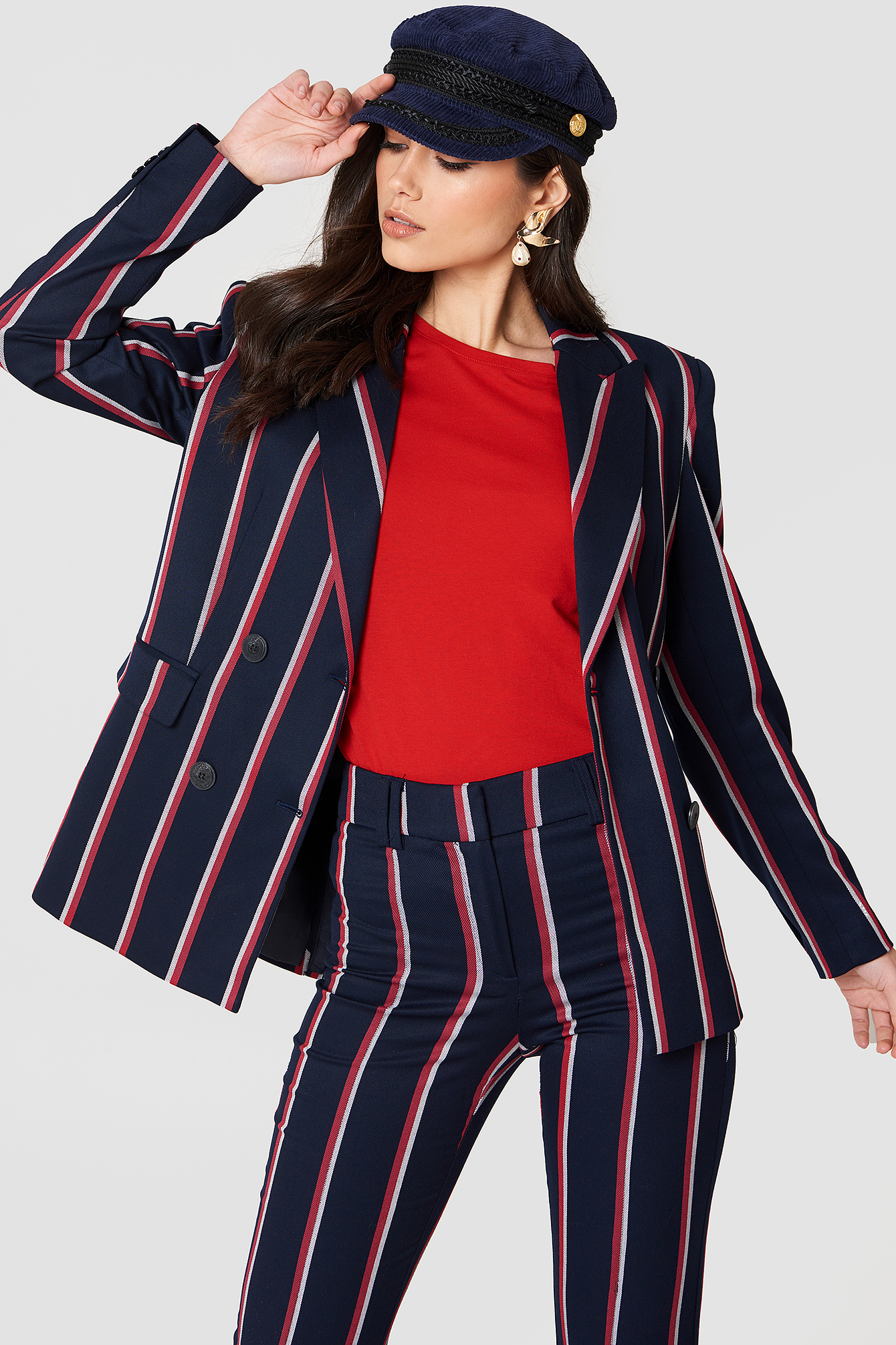 Striped Suit Blazer NA-KD.COM