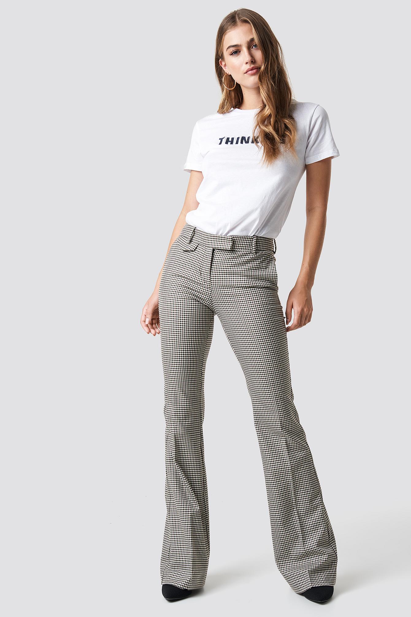 T-shirt Thinking NA-KD.COM