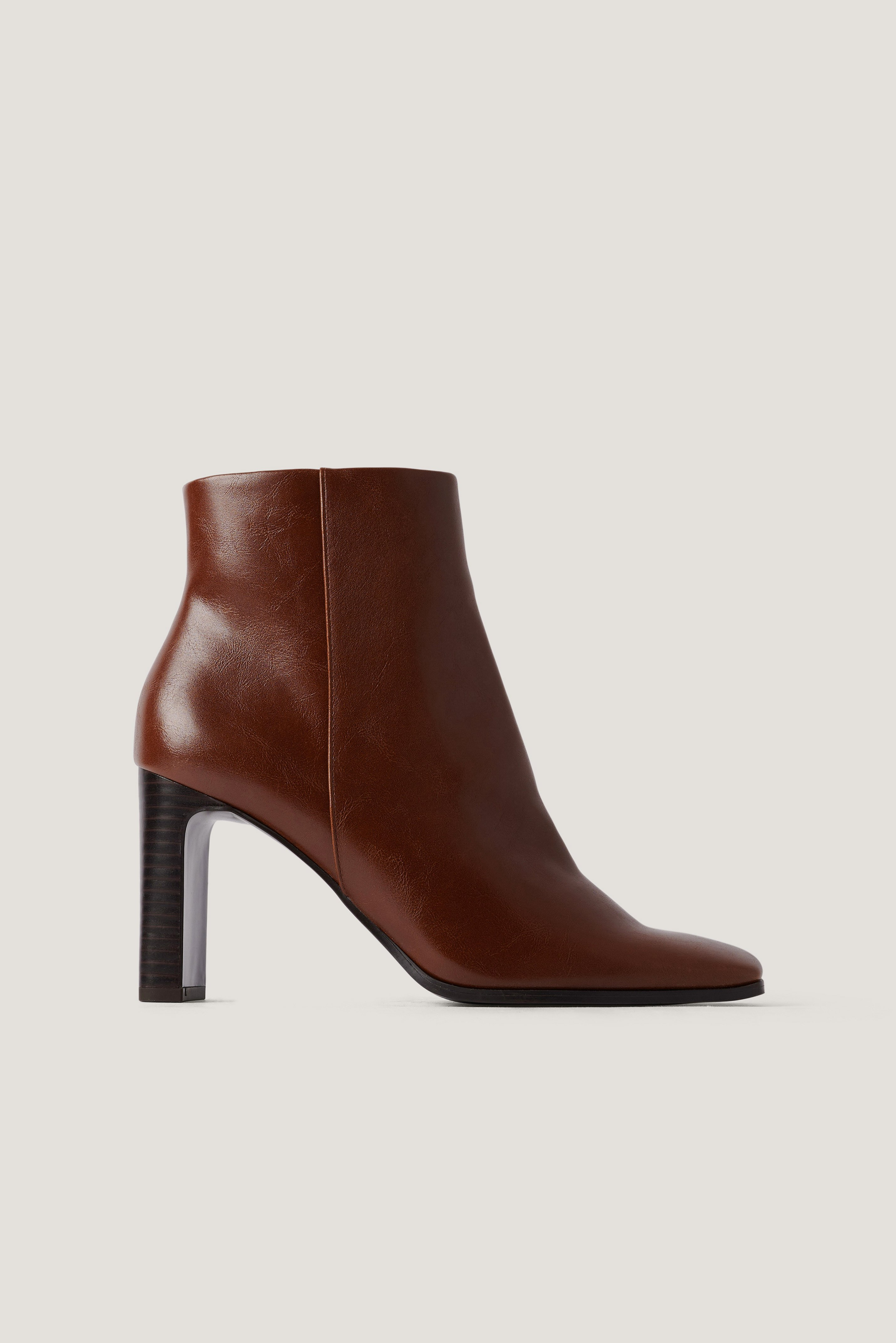 Mango Tierra Ankle Boots - Brown