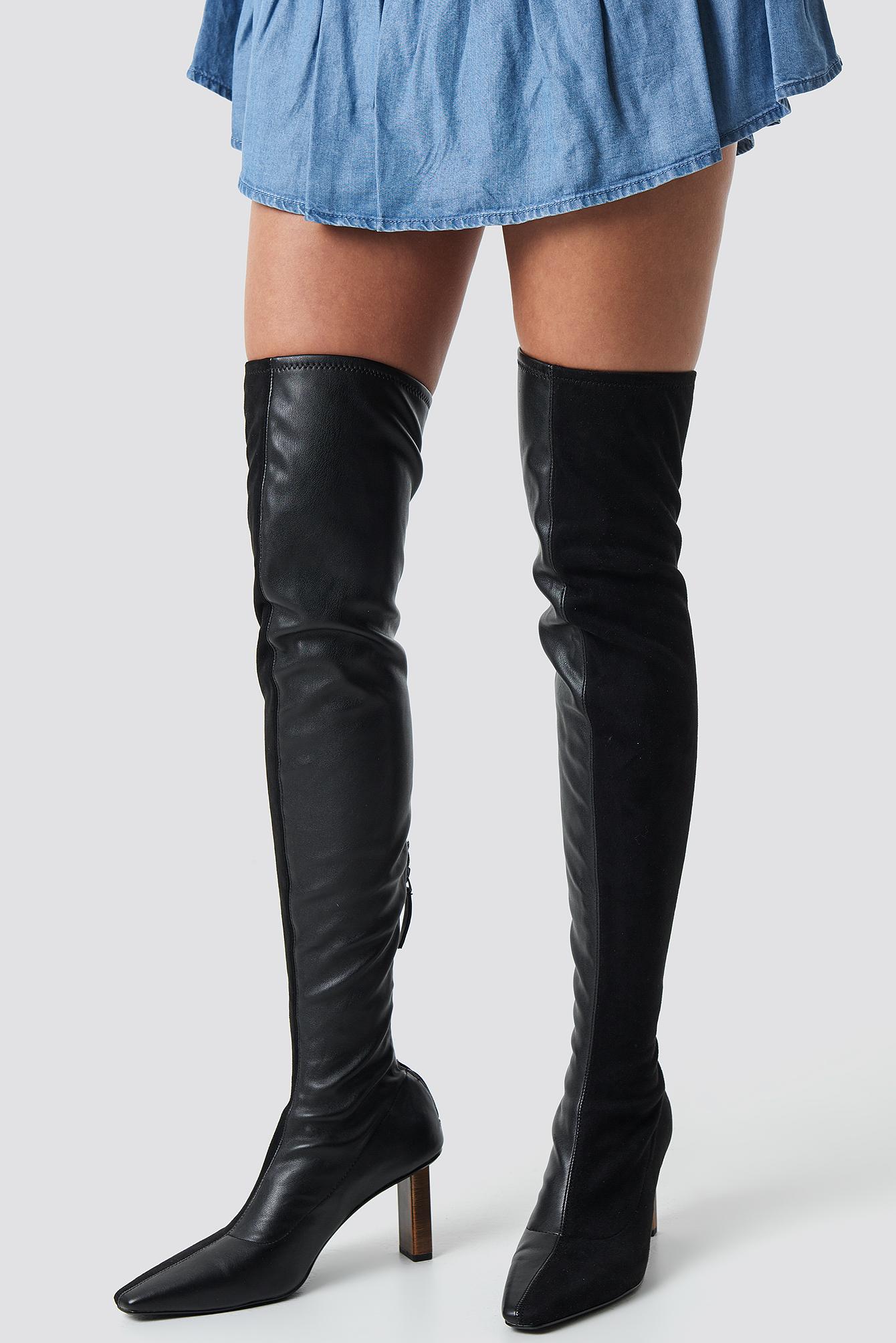 mango -  Tina Boots - Black