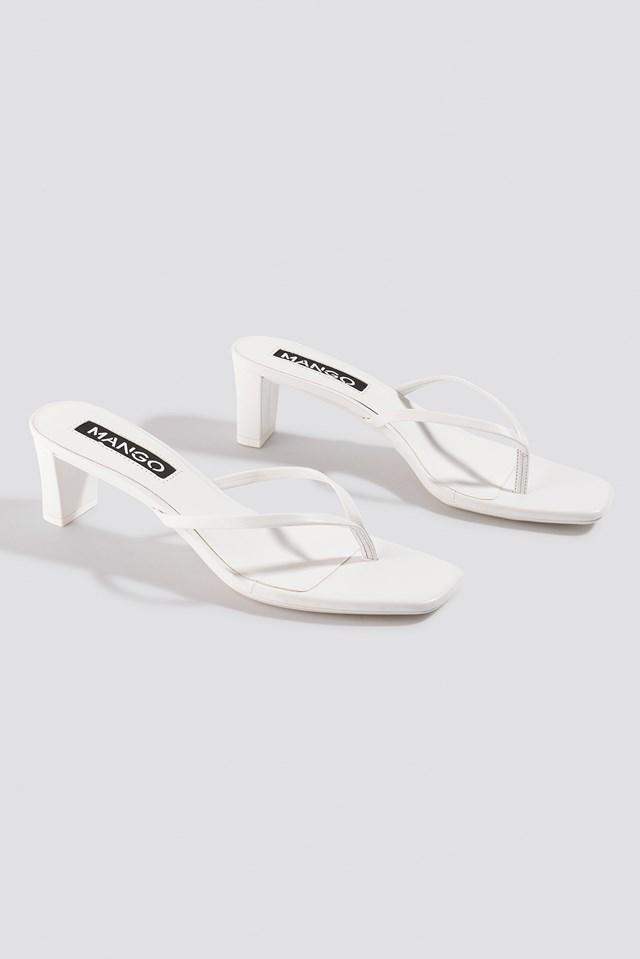 Tiny Sandals White