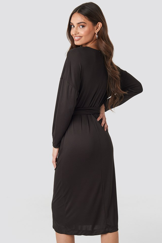 Tis Midi Dress Brown