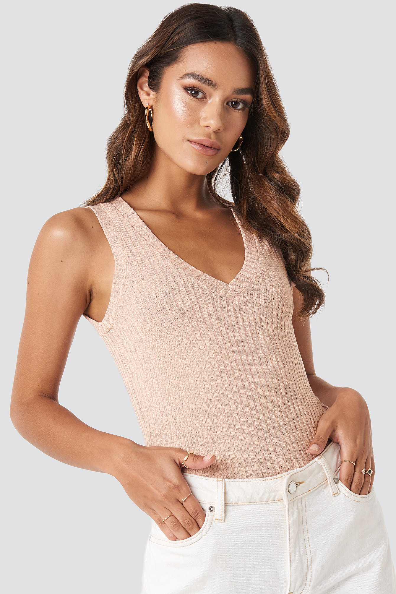 mango -  Tishop Top - Pink