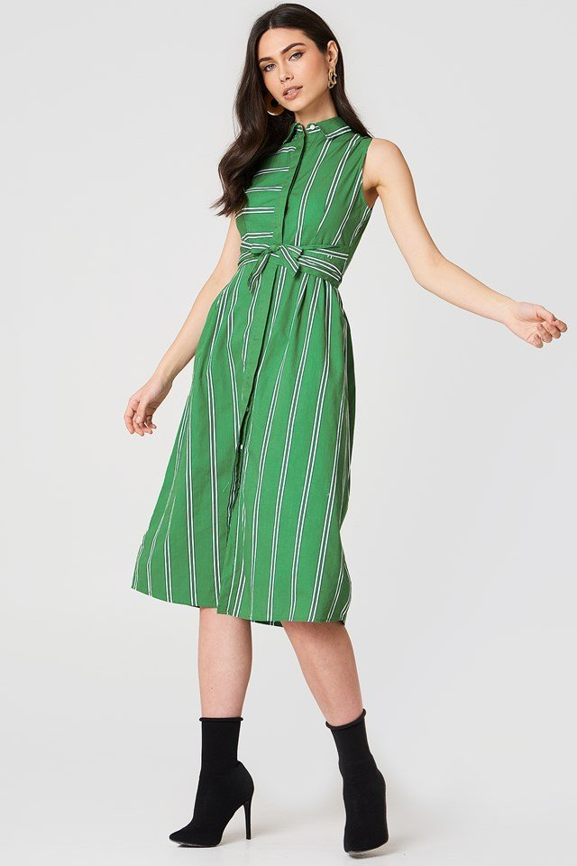 Tuti Dress Green