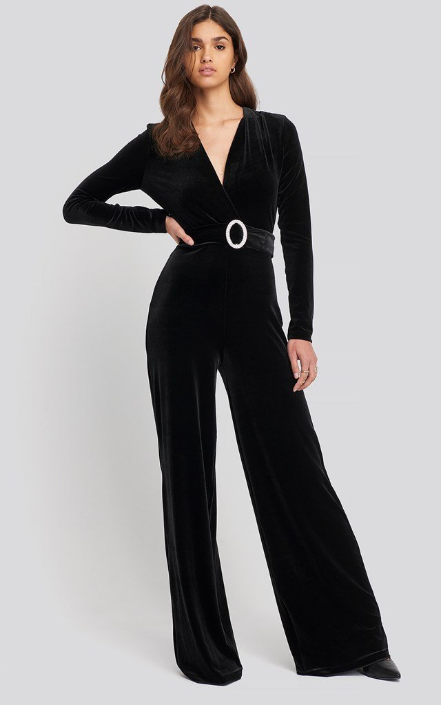 Tuxedos Jumpsuit Black