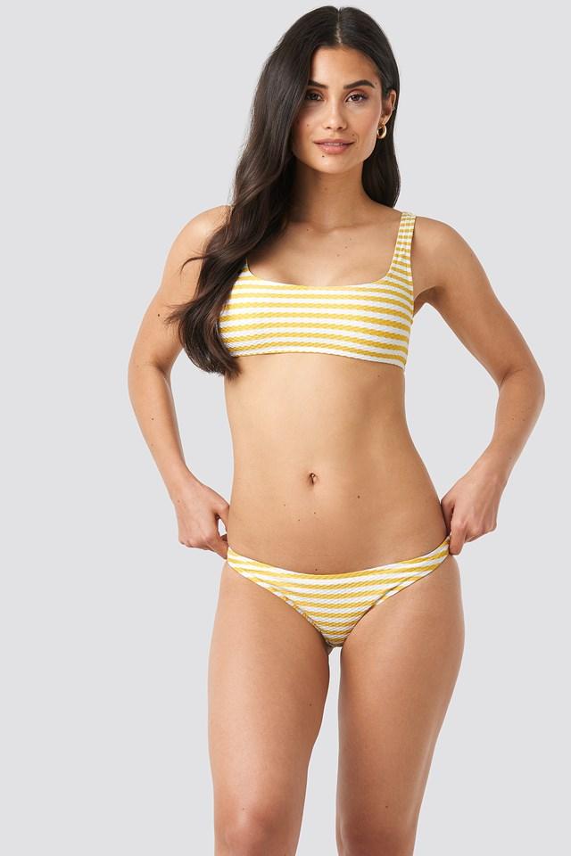 Venecia Bikini Top Pastel Yellow