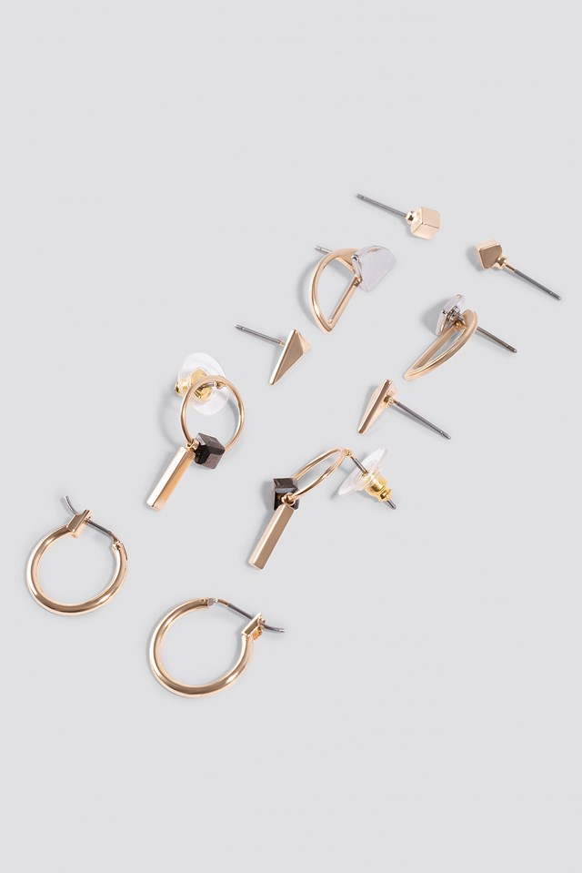 Vichy Earrings Gold