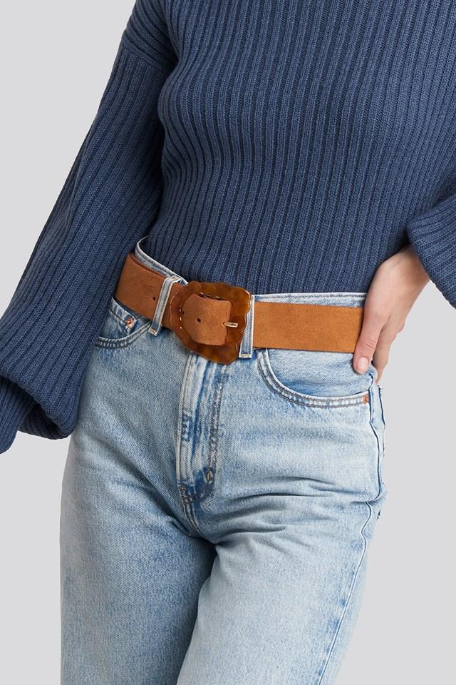 Vigo Belt Medium Brown
