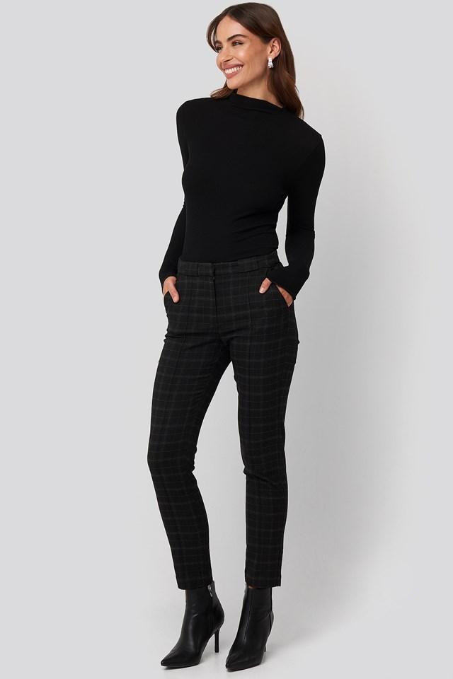 Warm Trousers Black