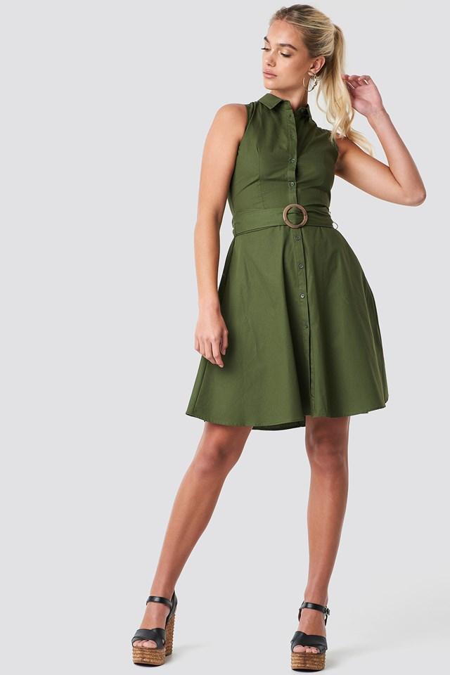 Wendy Dress Green