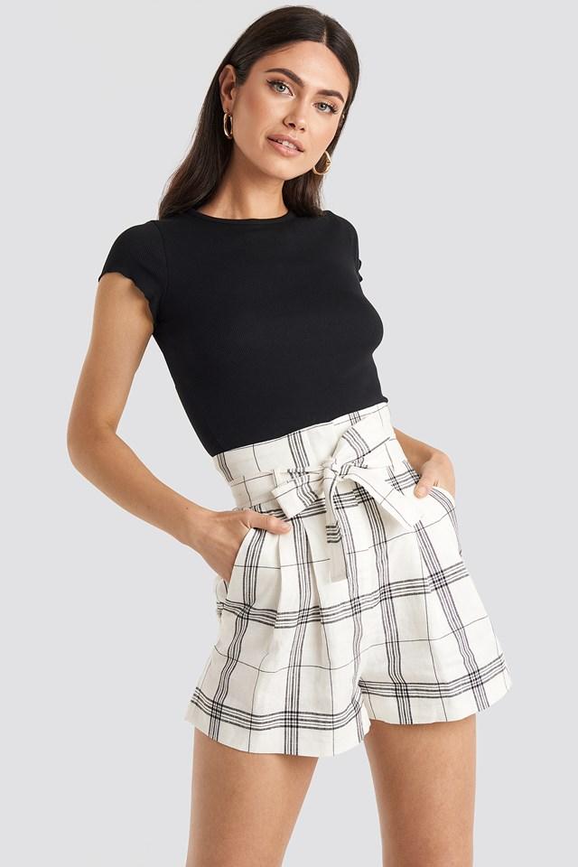 Window Shorts White