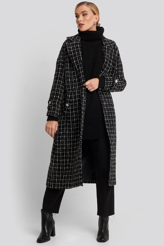 Wintour Coat Black