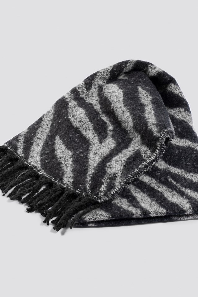 Zoo Scarf Black