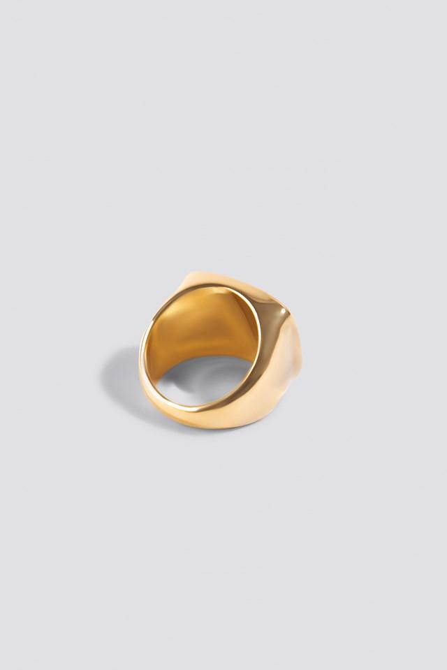 Square Signet Ring NA-KD.COM