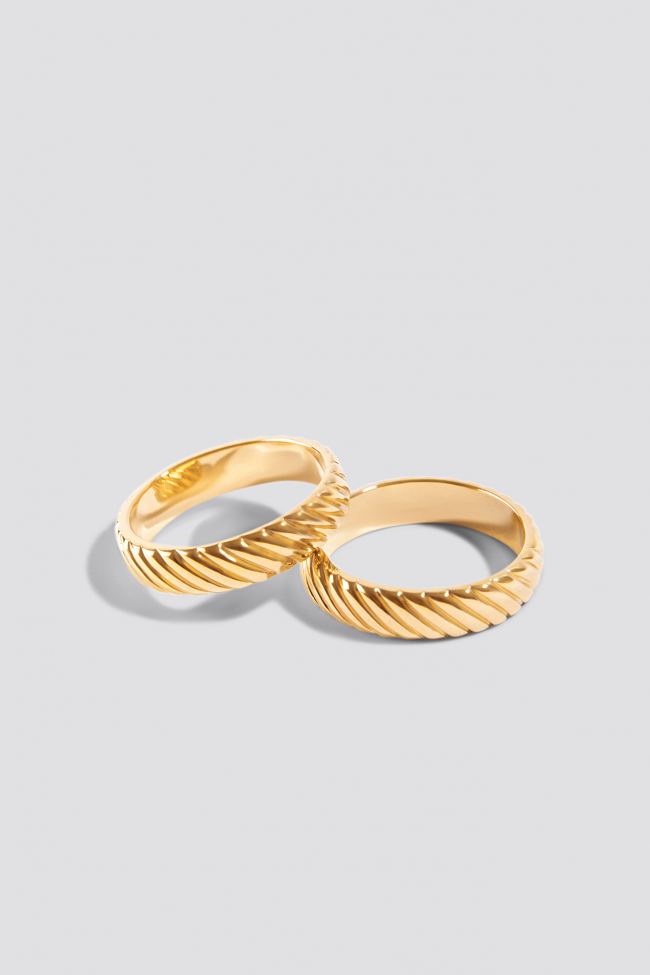 Structured Ring 2-pack NA-KD.COM