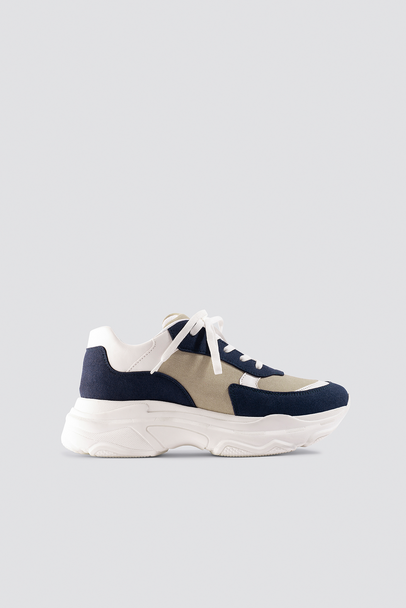milena karl x na-kd -  Chunky Sneaker - White