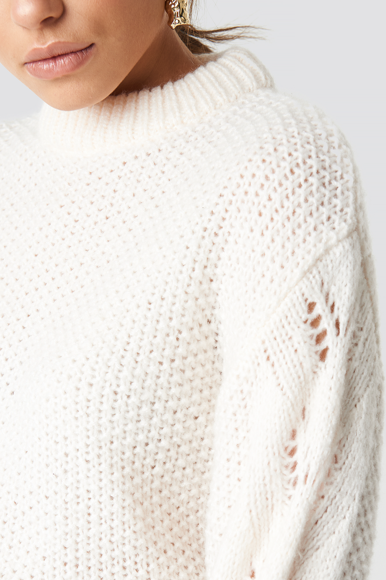 Heavy Knitted Sweater NA-KD.COM