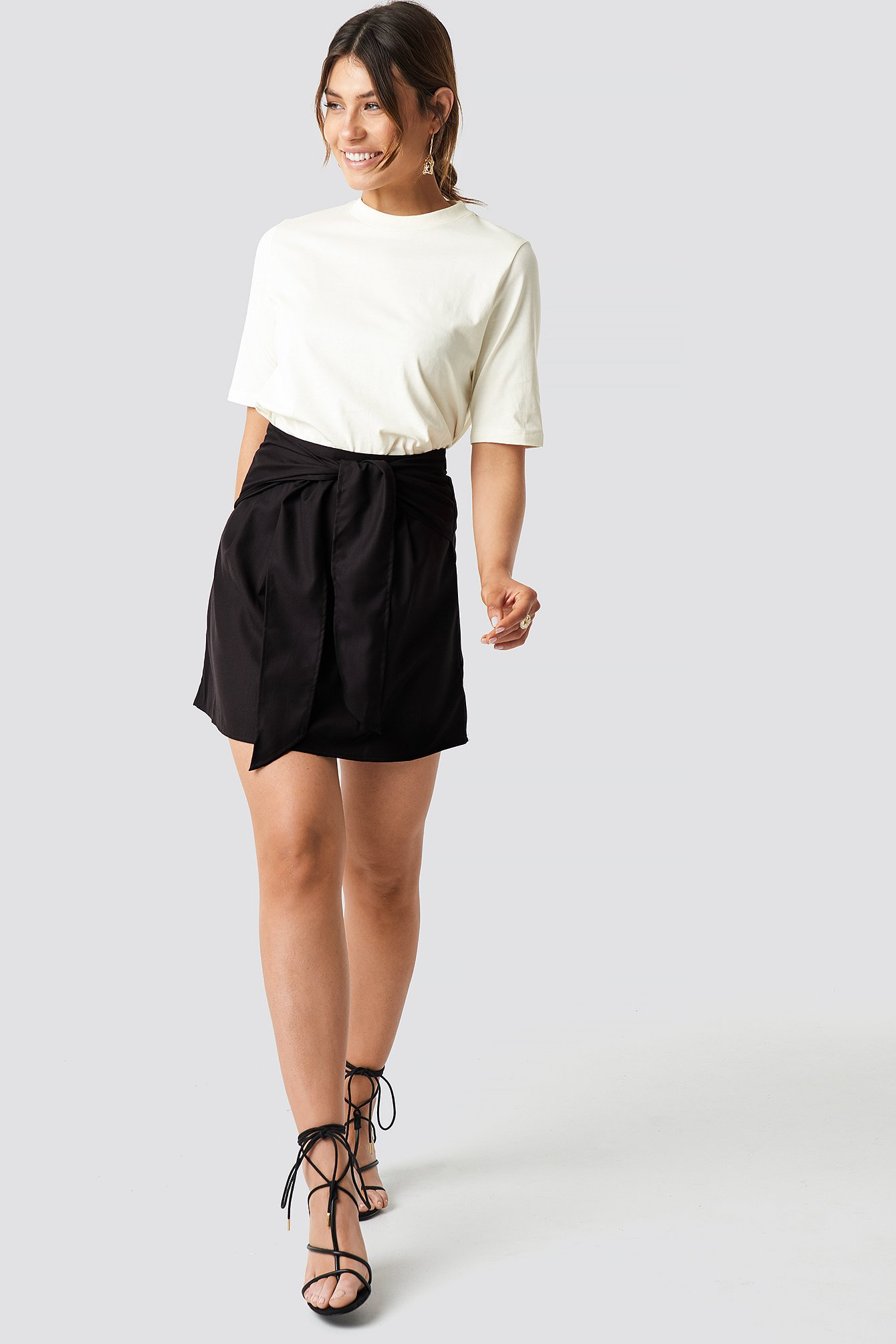 Knot Mini Skirt NA-KD.COM