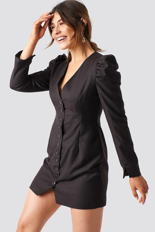 Puff Mini Blazer Dress Milena Karl x NA-KD