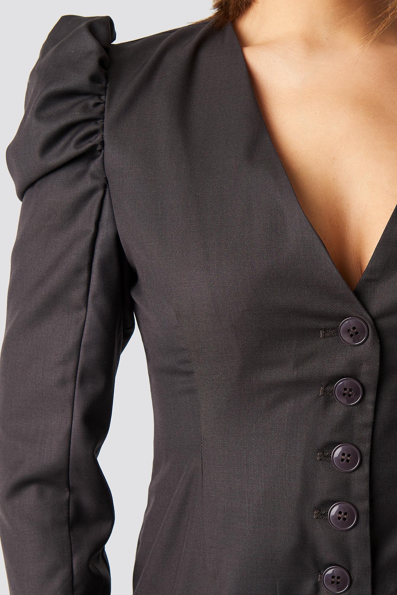 Puff Mini Blazer Dress NA-KD.COM