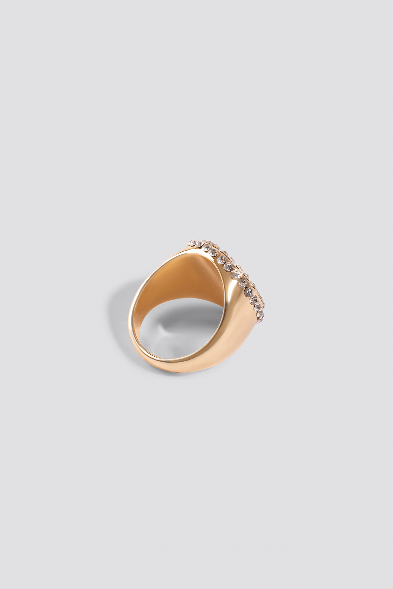 Signet Strass Ring NA-KD.COM