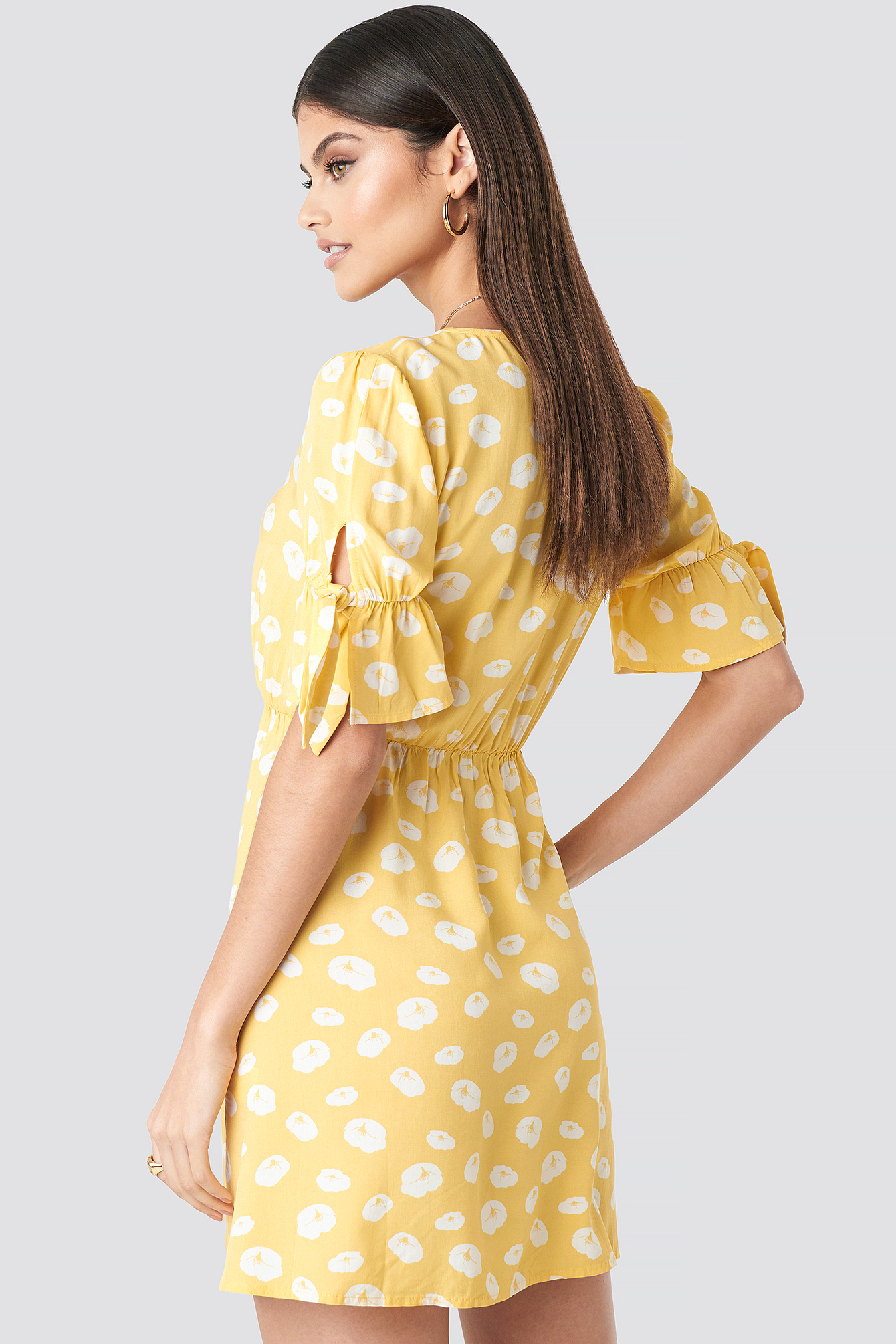 Printed Mini Dress NA-KD.COM