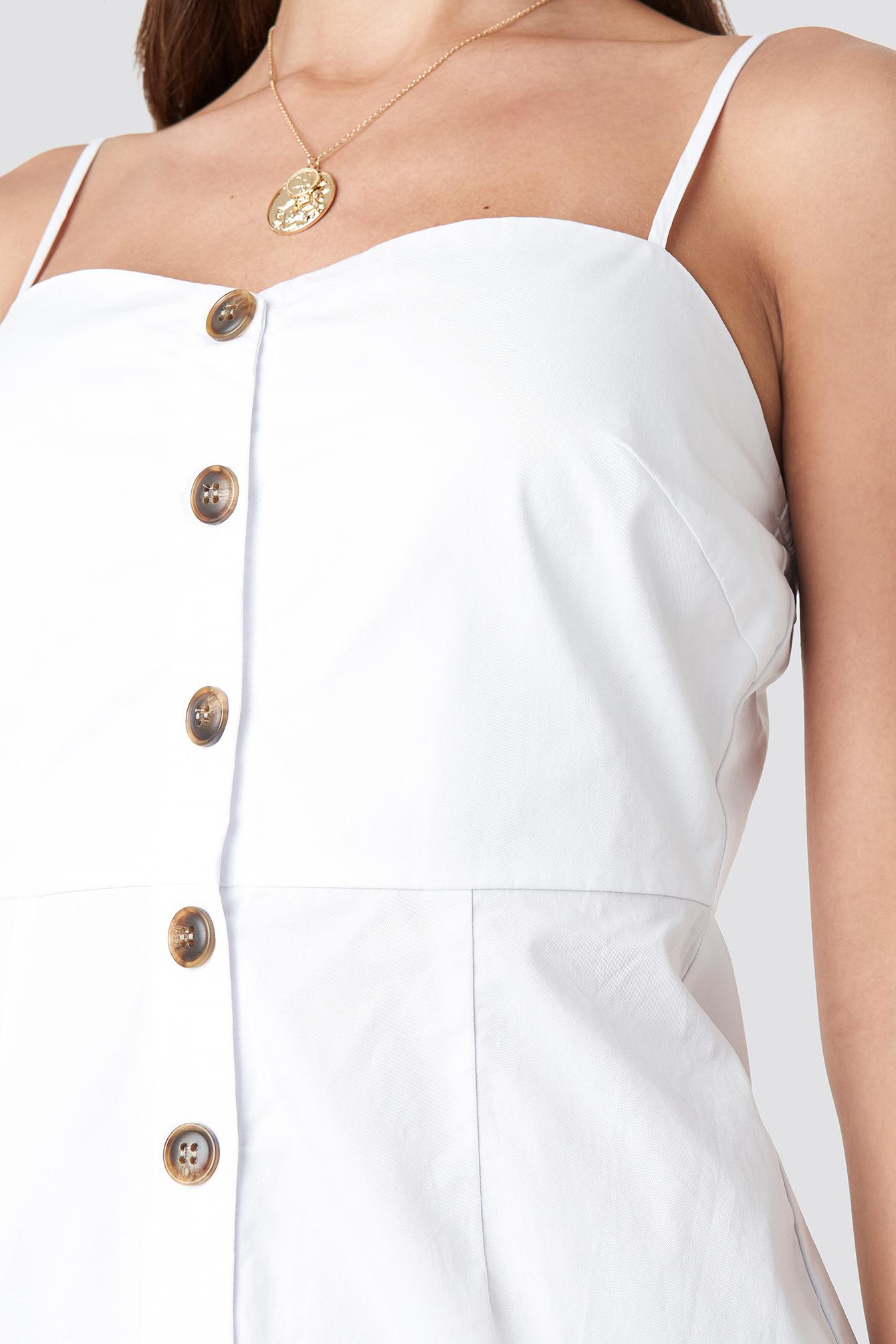 Strap Mini Cotton Dress NA-KD.COM