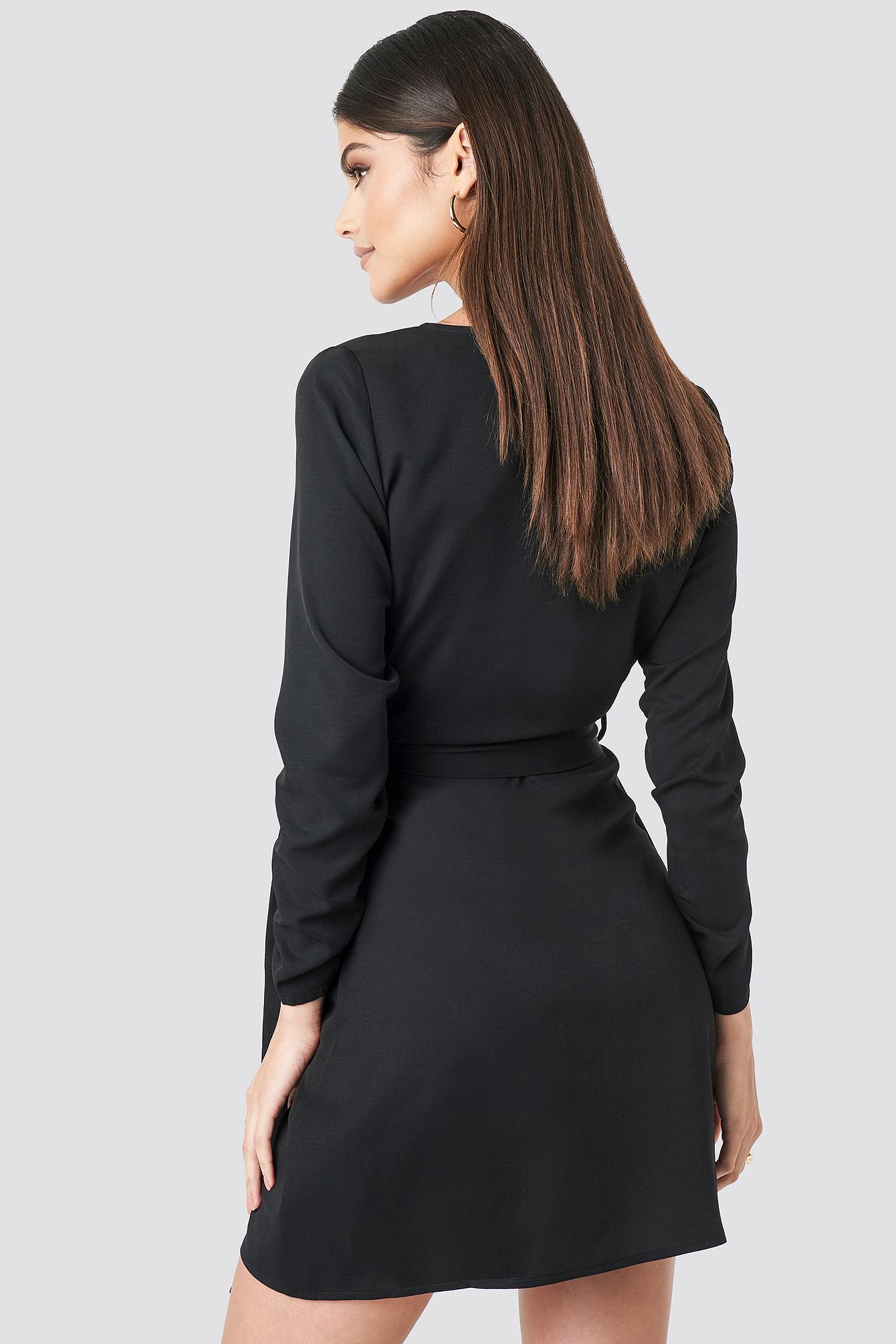 Wrapped Mini Dress NA-KD.COM