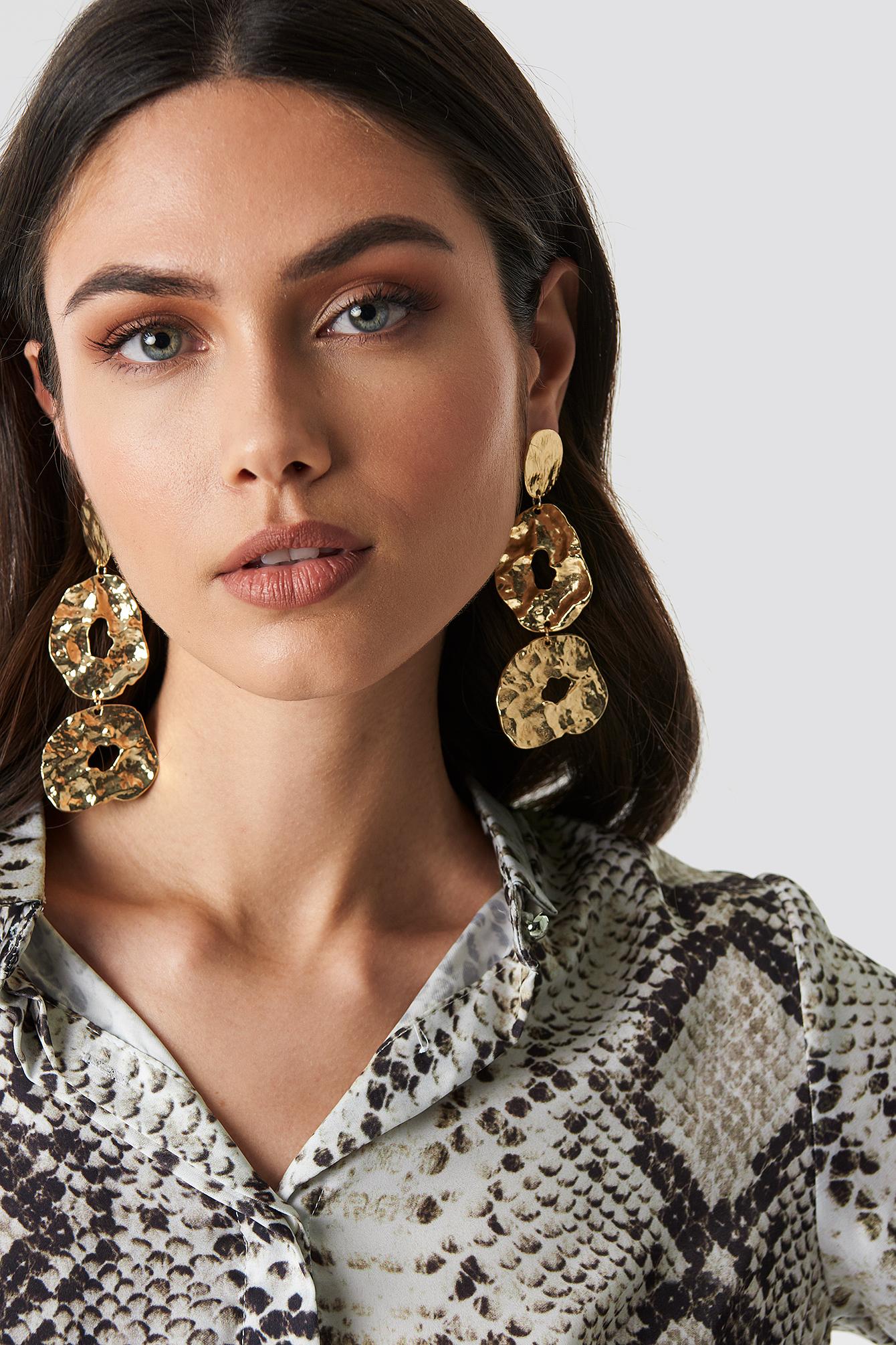 trendyol -  Milla Earrings - Gold