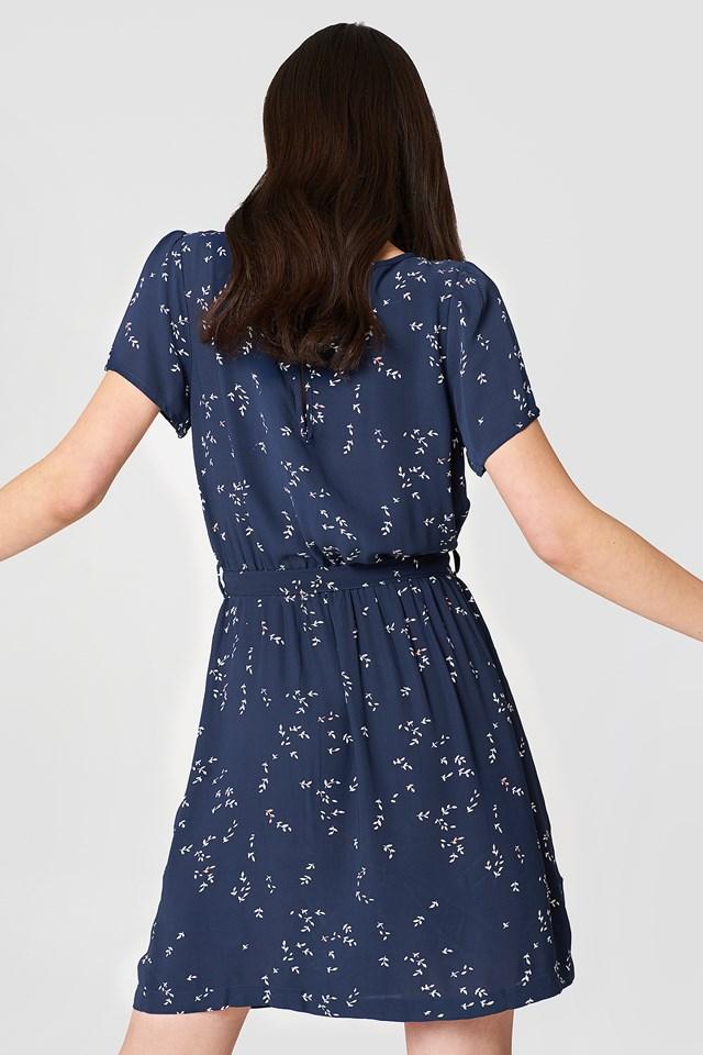 Sukienka midi Amarante Dress Blue