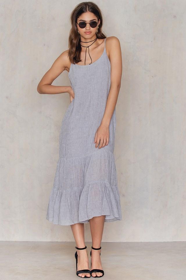 Caria Dress Steel Grey