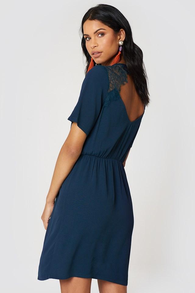 Clarina Dress Dress Blue