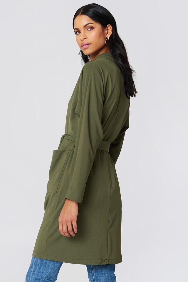 Denia Blazer Ivy Green