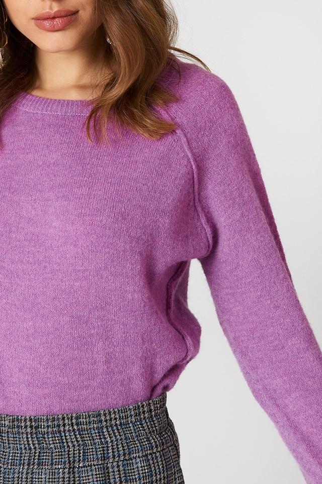 Kita Sweater Spring Crocus