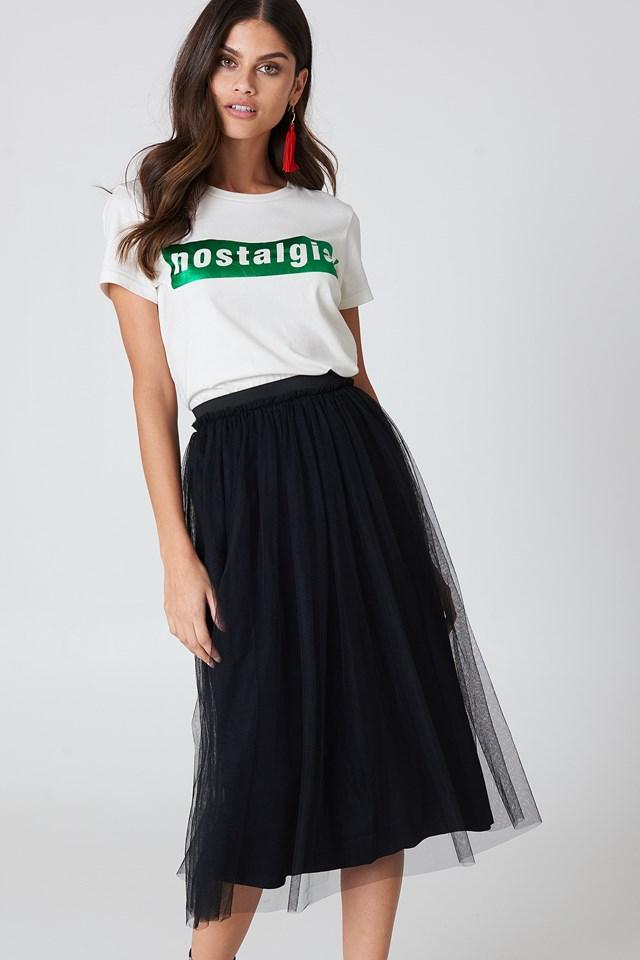 Mechela Skirt Black