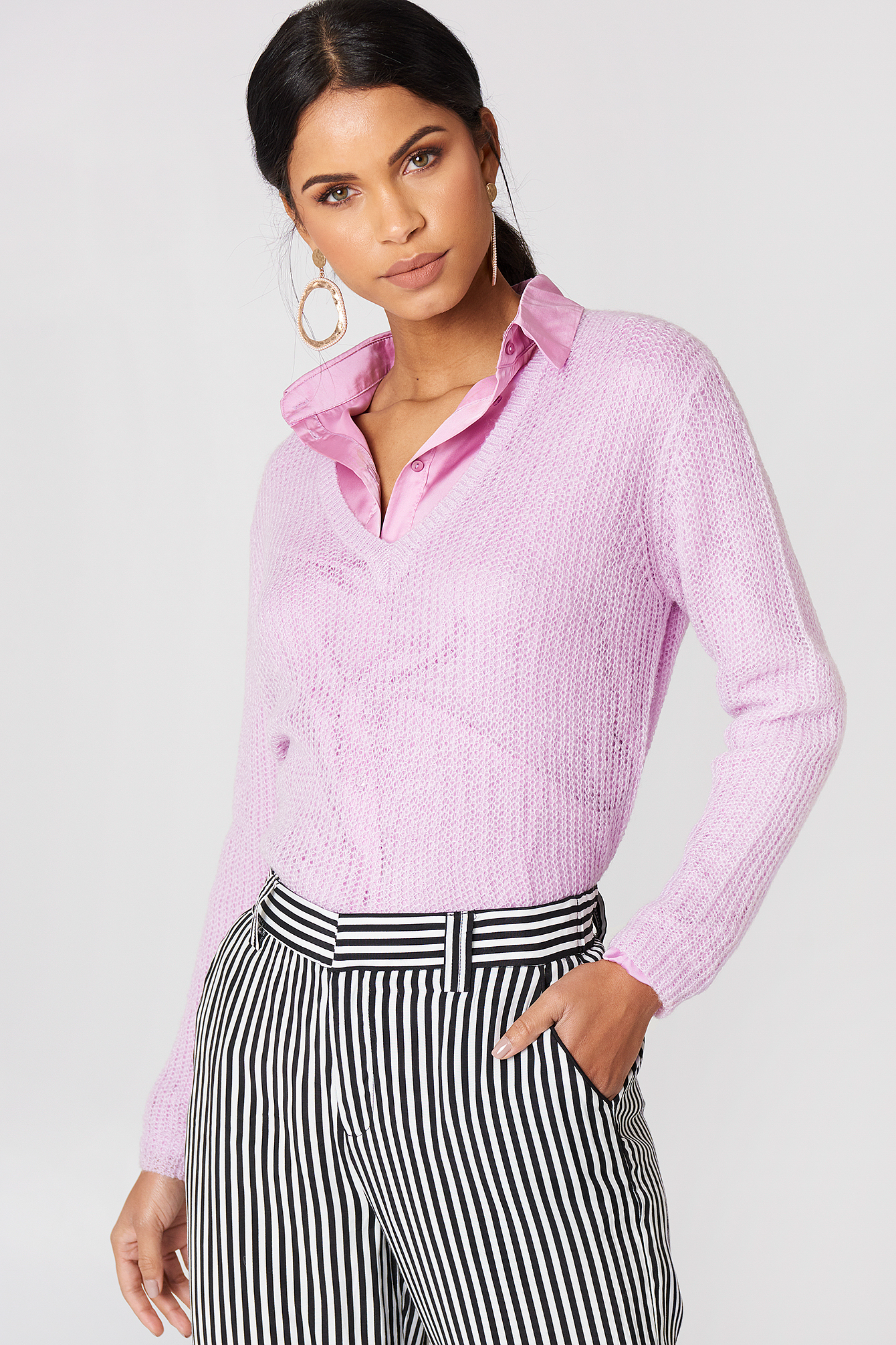 MOVES NILLY JUMPER - PURPLE