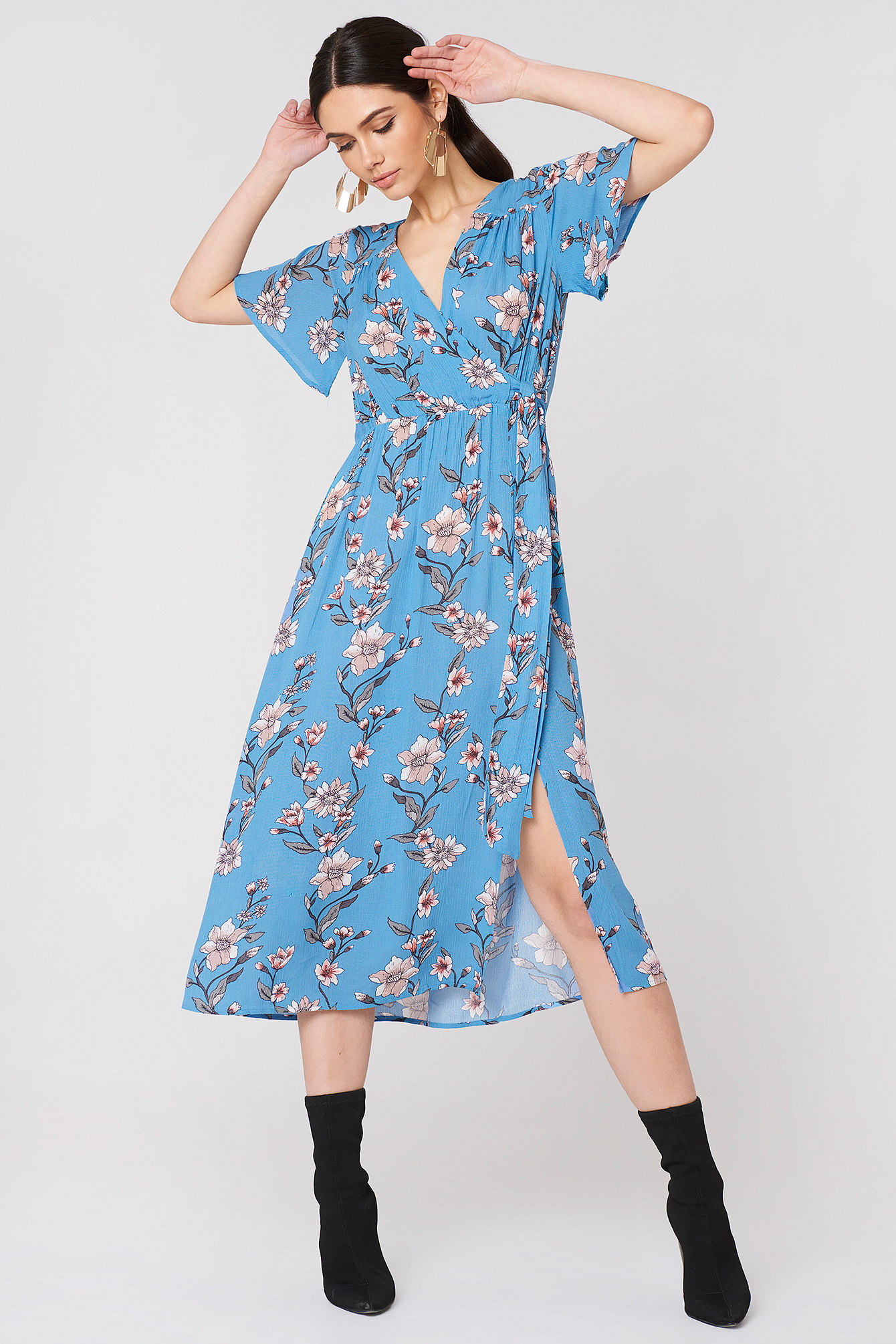 Somerset Midi Dress NA-KD.COM