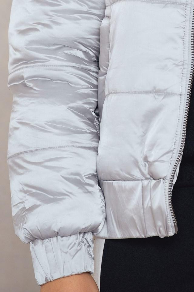 Hooded Puffa Jacket NA-KD.COM