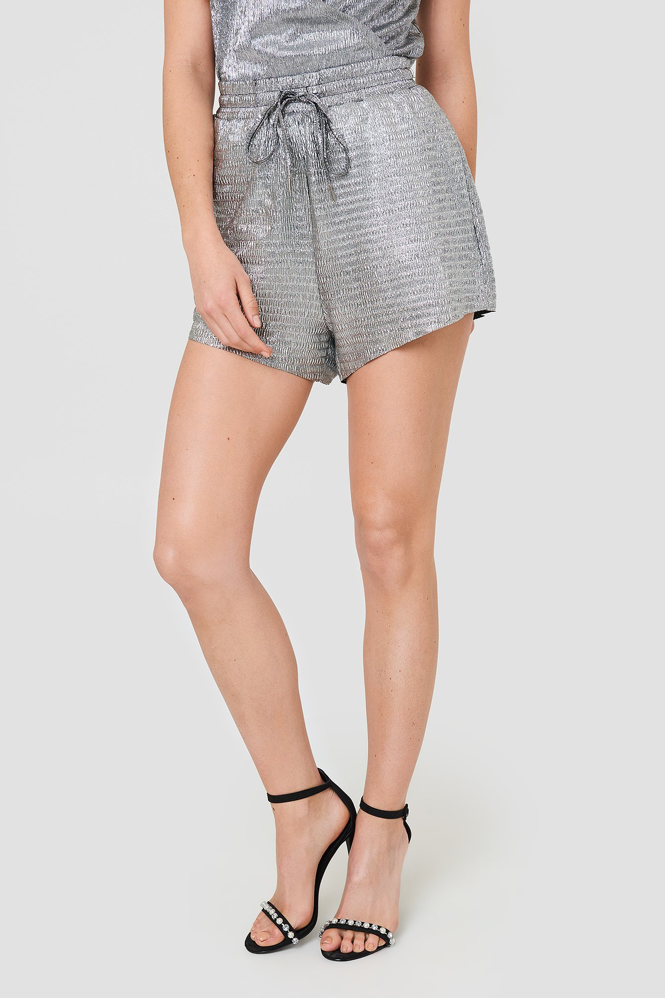 Metallic Shorts NA-KD.COM