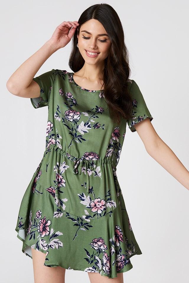 Wanderer Circle Frill Dress Multi
