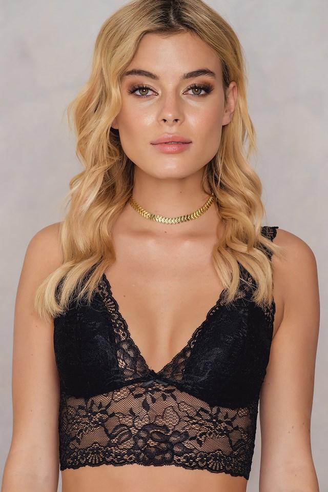 Nicole Bra Top Black