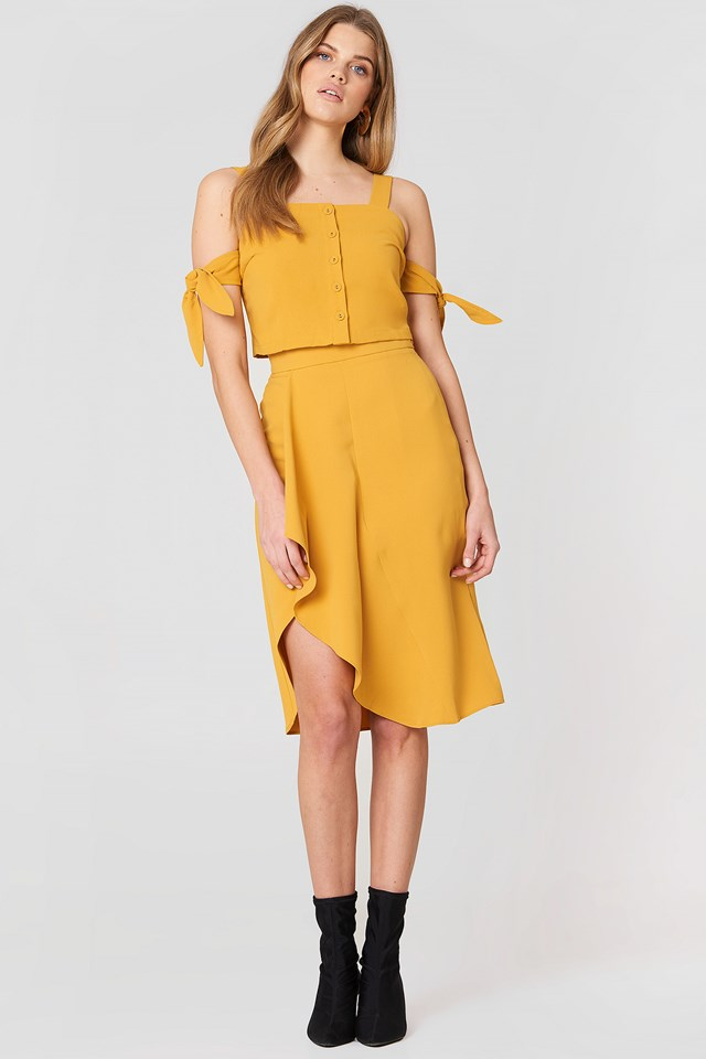 Asymmetrical Skirt Marigold