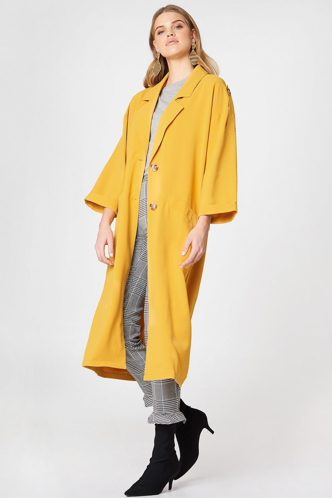Relaxed Long Blazer NA-KD.COM