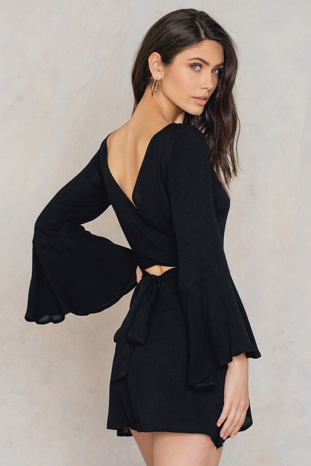 Georgie Mini Dress Black