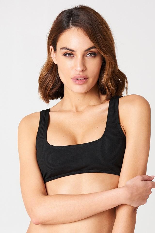 Fleata Bikini Top Onyx